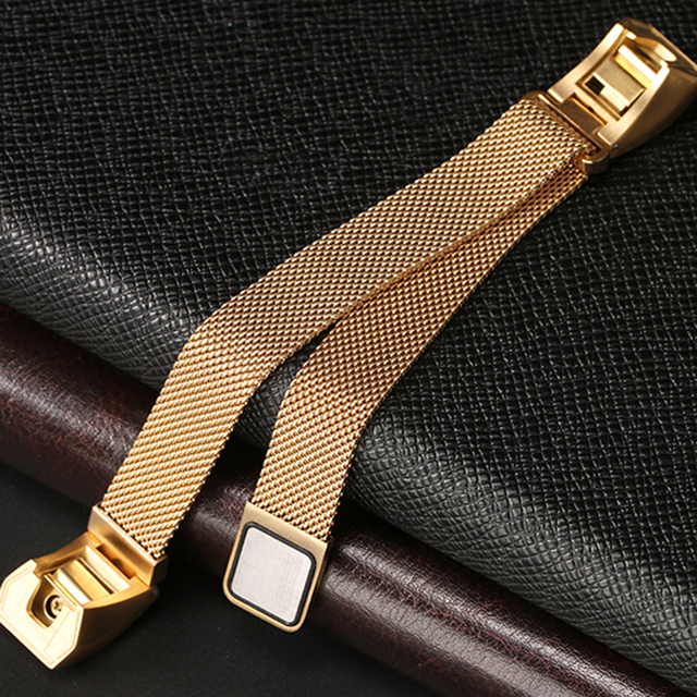 Femperna Luxury Brand Magnetic Loop Stainless Steel Customized High Quality Band Strap For Fitbit Alta Smart Watch Correa Reloj