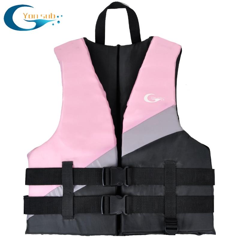 Life Vest Jacket Motorboat Swimming Boating Ski Drifting Life Vest Water Sports Man Women Buoyancy Life Jacket Floating Clothing