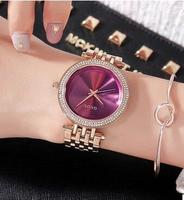 Fashion High Quality Brand Simple Style Quartz Qatch Gold Steel Dress Watches Lasies Casual Clocks Relogio