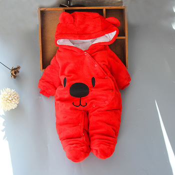 Baby clothing Boy girls Clothes Cotton Newborn toddler rompers cute Infant new born winter clothing 1
