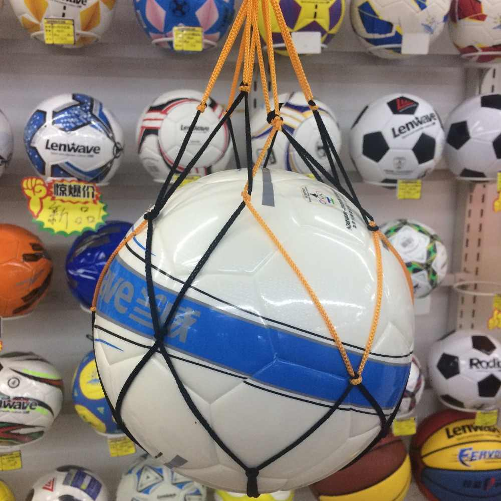1pc Outdoor Sporting Soccer Net Bag Basketball Carry Portable Equipment Football Volleyball Ball String