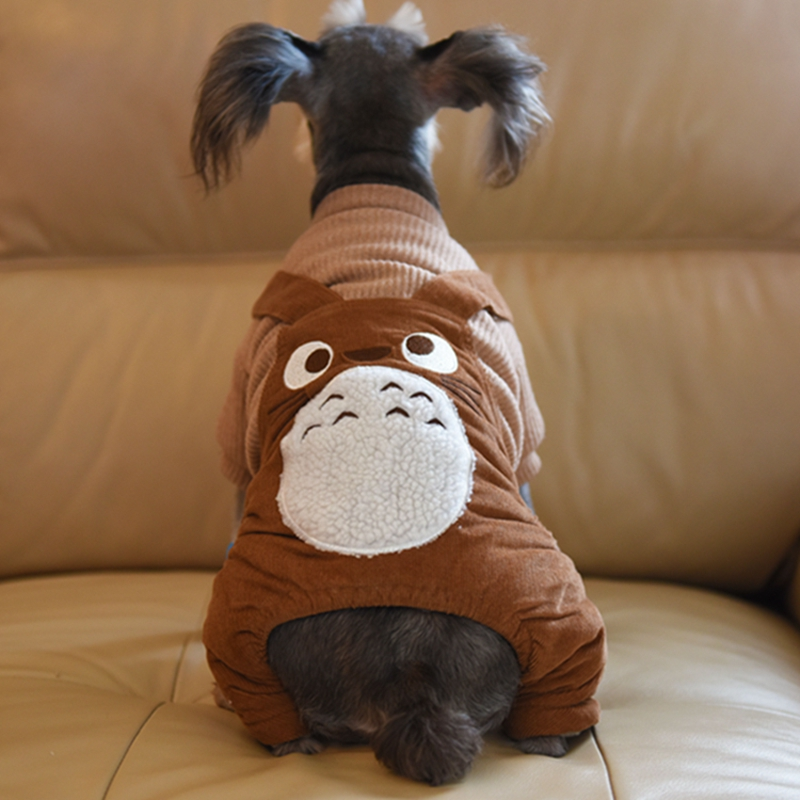 US $17 07 |2017 Hot Sale Pet Dog Clothes High Quality Stylish Corduroy  Overalls Chinchilla Pattern Jumpsuits Pants Clothing-in Jumpsuits & Rompers