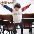 New Arrival Boys Sweater Children Kids Boys Long Sleeve Soft Cotton T-shirt Boys Pullover Clothes Boys Cool Sweater
