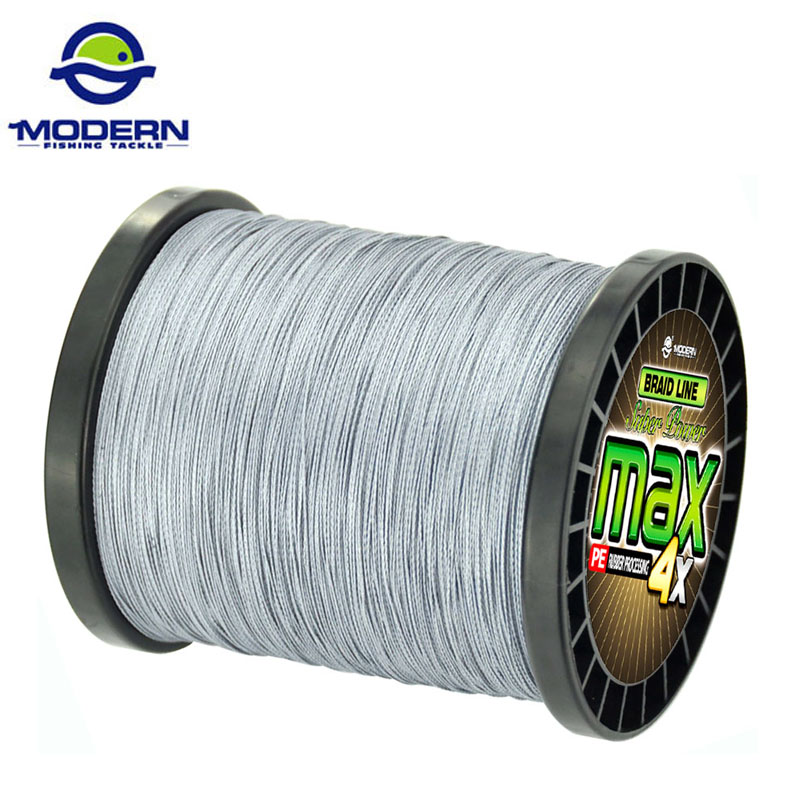 1500M MAX 4X MODERN Braided Carp Fishing Line Japan Multililament Wear- გამძლე PE PE Fishing Rope 4 Strands Wire 8-დან 90LB- მდე