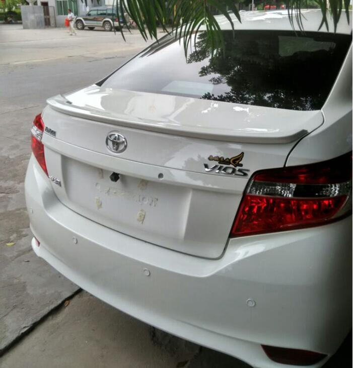 PAINT ABS CAR REAR WING TRUNK LIP SPOILER FOR 16 17 TOYOTA VIOS 2014 2015 2016 2017 BY EMS red hot chili peppers red hot chili peppers the getaway 2 lp