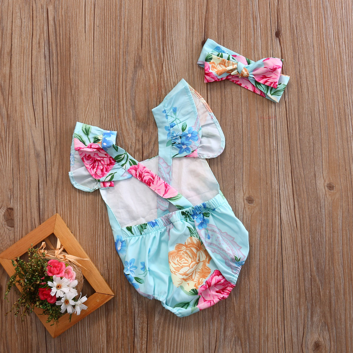 Summer-2017-Newborn-Infant-Baby-Girl-Floral-Button-Romper-Backcross-Jumpsuit-Clothes-Outfits-Sunsuit-Clothing-2