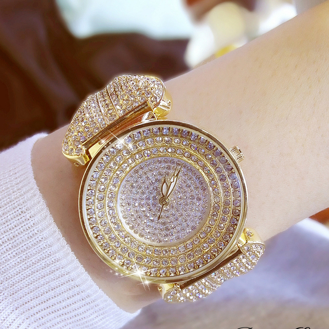 FUYIJIA luxury female watch Women's quartz watch brand fashion full diamond brac