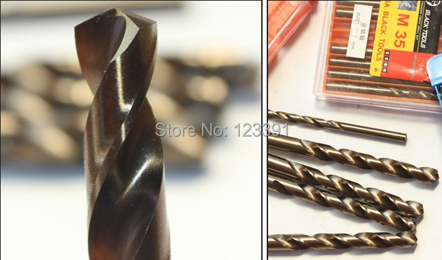 5 TEILE/SATZ 7,0*109mm ganze CNC geschliffen HSS M35 Co5 % spiralbohrer SS Bohren zylinderschaft für SS/stahl/stahlguss eisen alum