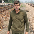 men casual Military uniform sweater thick winter sweater bottoming shirt loose uniformed cardigan jacket free shipping H1858
