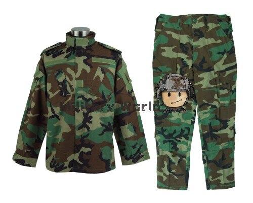 Лесной Цвет Открытый Мужской тренинг клянусь военный тактический БДУ борьбе равномерное костюм устанавливает куртки и брюки Бесплатная доставка