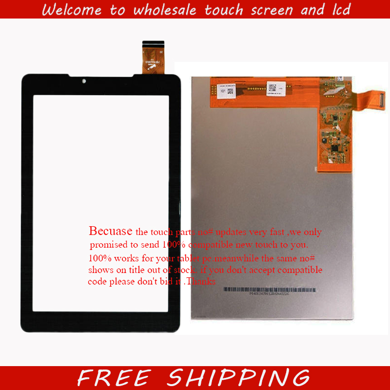 New 7 inch lcd display touch screen digitizer glass Panel Sensor For Tablet Prestigio MultiPad Wize 3767 3757 3787 3G Free Ship lcd screen display touch panel digitizer with frame for htc one m9 black or silver or gold free shipping