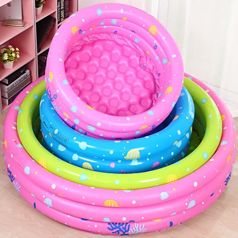 2018 Inflatable Pool Baby Swimming Pool Outdoor Children Basin Bathtub Kids Pool Baby Sw ...