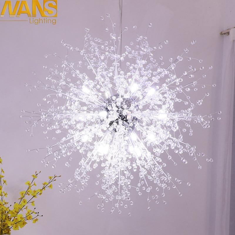 NANS Lámpara LED moderna vanidad imitación de cristal acrílico - Iluminación interior