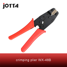 WX-48B crimping tool plier 2 multi tools hands Ratchet Crimping Plier (European Style)