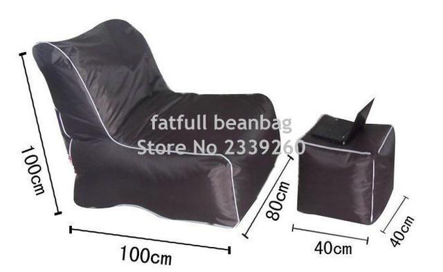 couverture seulement pas de charge exterieur et interieur salon de haricots sac meubles canape ensemble