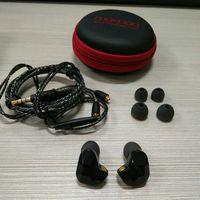 2 قطع الأصل moxpad x9 سماعات الأذن باس microdriver hd سماعات الديناميكية handfree عن mic سماعات كابل للانفصال