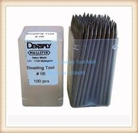 Free Shipping Beading Tools Set Of 100 Pcs Jewelry Making Tools Diamond Setting Tool Size No