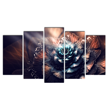 5 piece canvas prints poster picture canvas painting wall pictures flowers free shipping Cairnsi