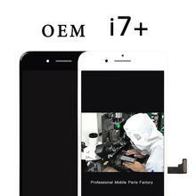 Top quality 5pcs OEM For iphone7 plus LCD   5.5 inch For iPhone 7plus LCD Screen and touch Digitizer replacement Free shipping
