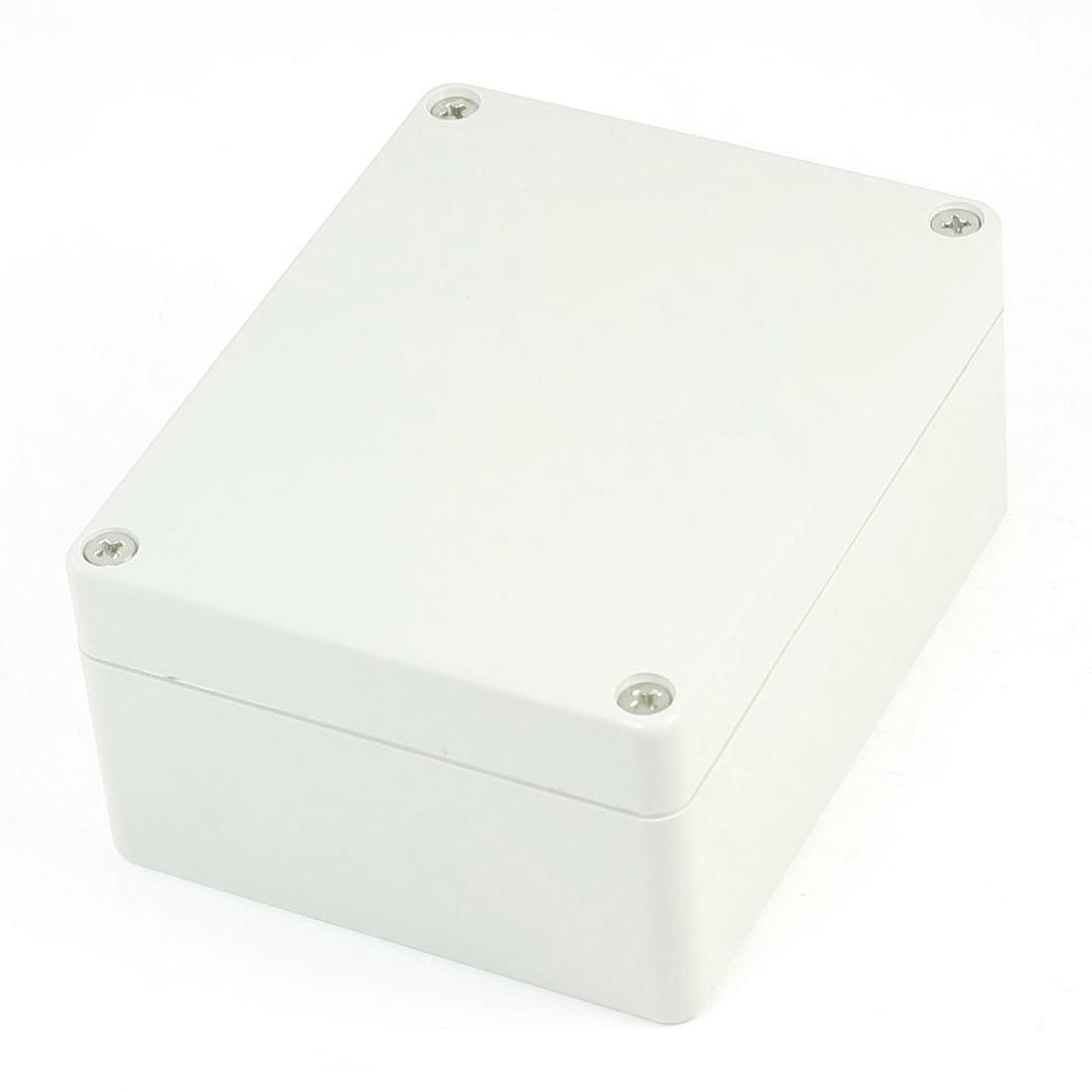 2 Pcs Of MOOL 4.5-inch X 3.5-inch X 2.1-inch Plastic Waterproof Case DIY Box Holder