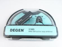 Degen de31ms interior ativo macio loop antena para mw & sw fm rádio a0797a atacado