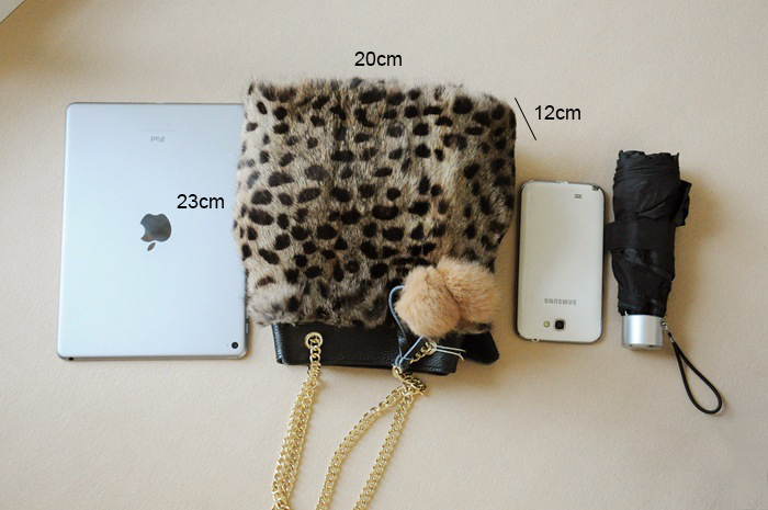 607ba6938d LilyHood 2017 Lady Genuine Leather Rabbit Fur Bucket Shoulder Bag Winter  Cute PomPom Chain Shop Online Leopard Handbag Gift-in Shoulder Bags from  Luggage ...