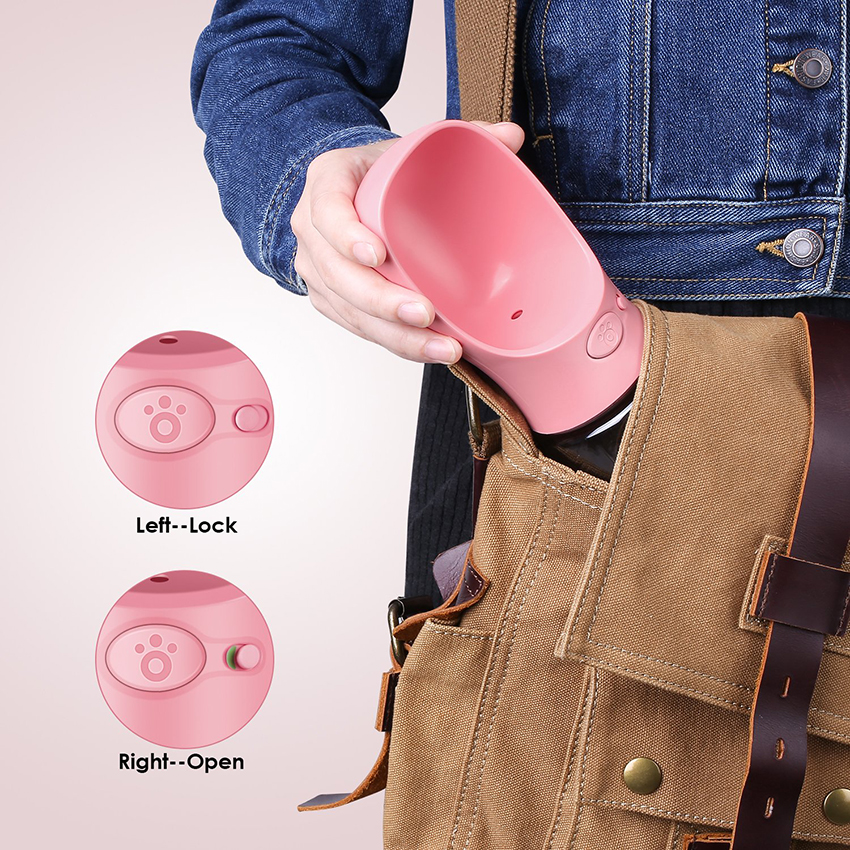 Portable Pet Water Bottle Travel Dog Water Bottle - Forevermily
