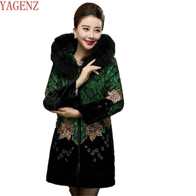 Manteau velours femme grande taille