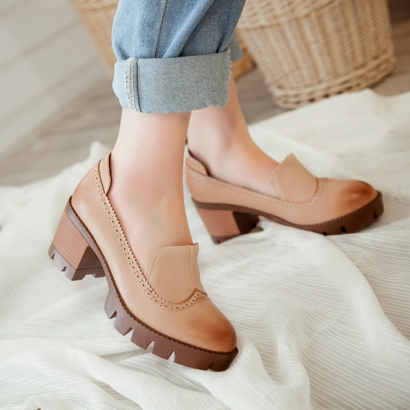 skinny jean blok ayakkabı