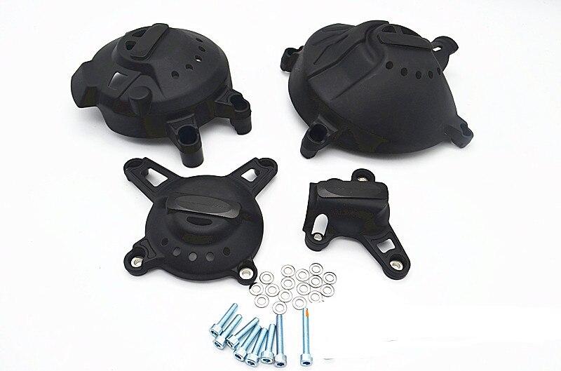 For YAMAHA Tracer MT 09 Engine Stator Crank Case Protector Cover FZ 09 2014 2015 2016 engine stator crank case generator cover crankcase for yamaha fz400 all years cnc al black color
