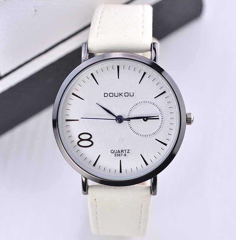 Fashion Casual Leather Women Wrist Watch Brand Luxury Quartz Watch Female Watches Relogio Feminino Reloj Mujer Clock Hodinky New new fashion unisex women wristwatch quartz watch sports casual silicone reloj gifts relogio feminino clock digital watch orange