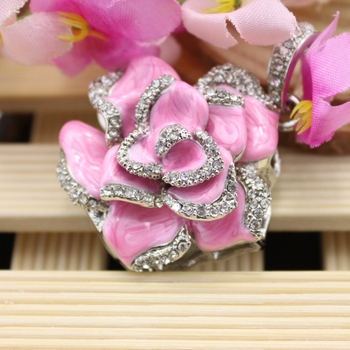 Rose Flower Girl Gift Jewelry Usb Flash Drive 64GB Pendrive 32GB 16GB Pen Drive 128GB Pendrives Memoria Usb Stick Disk Key 1TB