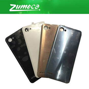 10PCS/Lot AAA+ Quality For LG Q6 Battery Cover Housing Case Door Rear Glass Replacement Part Gold Grey Black White Color