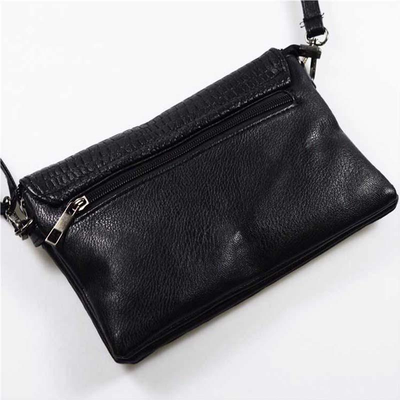 Retro Fashion Alligator Design Women's Clutches Office Lady Pouch Small Shoulder Bags Purse Pocket Messenger Flaps Bag BA180 4