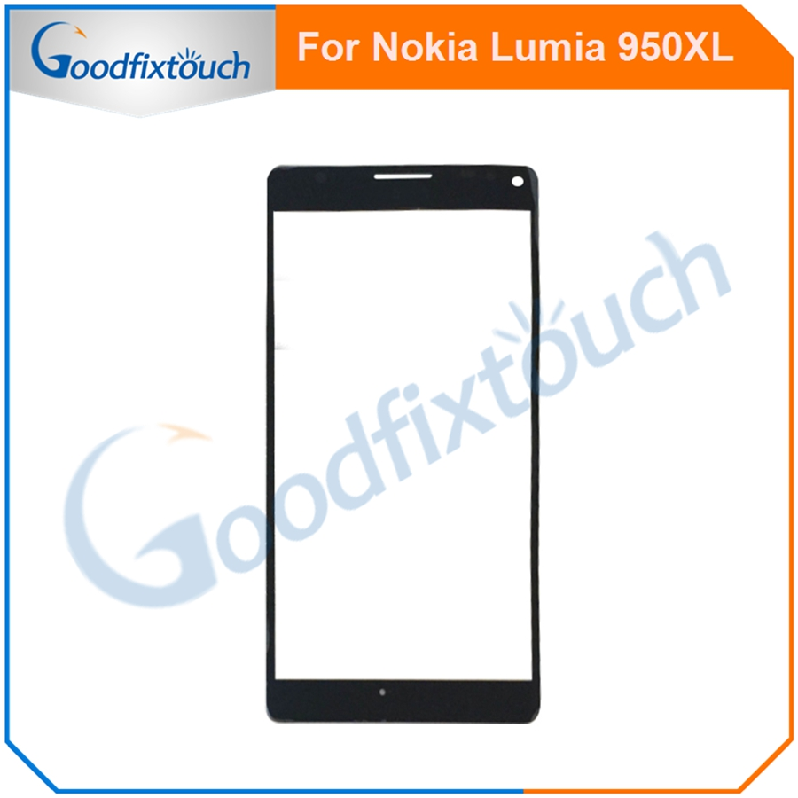 5PCS For Nokia <font><b>Lumia</b></font> <font><b>950</b></font> XL 950XL Touch Screen Sensor Front Glass Lens Panel High Quality Replacement <font><b>Parts</b></font> image