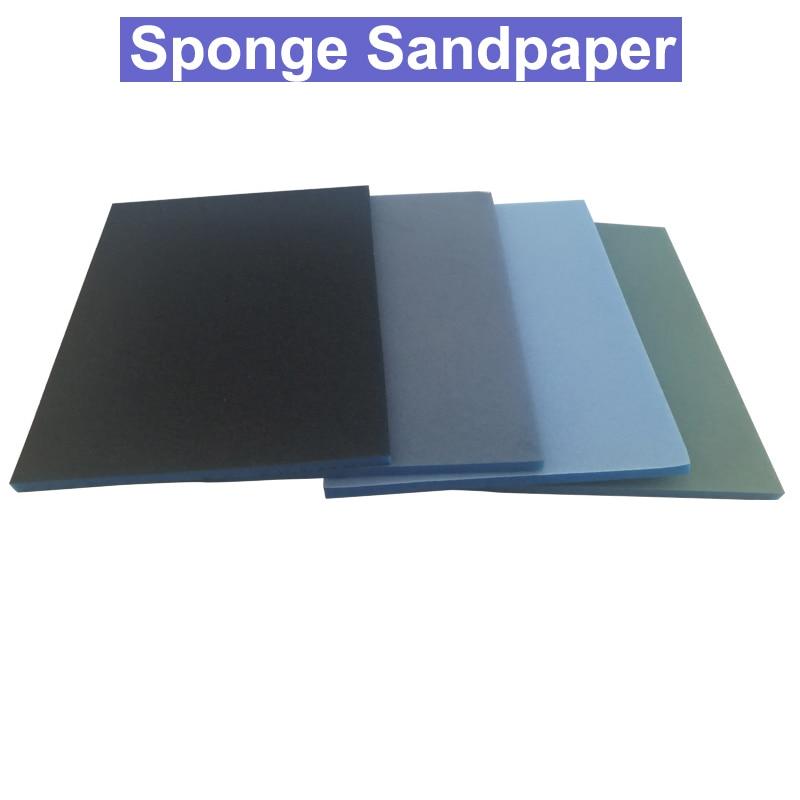 URANN High Quality #600 #1000 #1200 #2000 Sponge Sandpaper/Elastic Grinding Block /Sliding Mark Polishing /Plastic Shell Polish