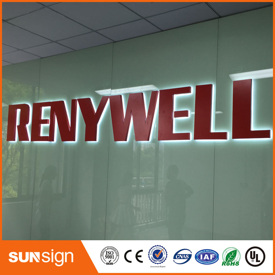 Outdoor Advertising Backlit Letters And Signs