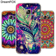 DREAMFOX M220 Floral Mandara Soft TPU Silicone Cover Case For Samsung Galaxy S5 S6 S7 S8 S9 S10 S10E Lite Edge Plus