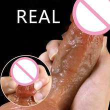 Products Sex shop Super Realistic Dildo Soft Silicone Penis huge Horse dildos Big Adult Sexy Toys for Women Female Masturbation