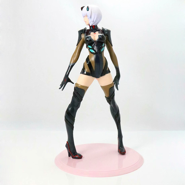 Black / White Version Evangelion Ayanami Action Figure EVA Ayanami Rei PVC figure Kids Toy Gifts no retail box (Chinese Version) 4