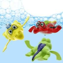 Заводная цепочка «крокодил» для купания заводная детская игрушка