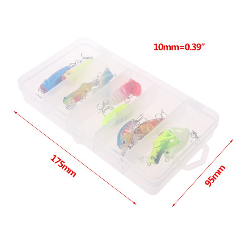 10 Pcs box Small Mini Fish Soft Bait Bionic Stereoscopic Insect Fake Baits Fishing Auxiliary Accessories Lure Tool in Fishing Lures from Sports Entertainment