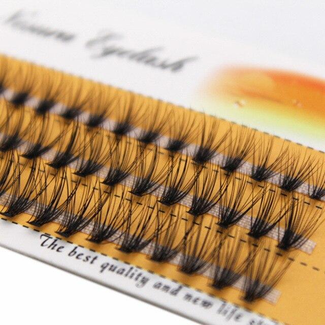 8/9/10/11/12/14mm Natural Soft False Eyelash Extension Deluxe Lashes VOLUME Flase Eyelashes Fans 3d Eyelashes