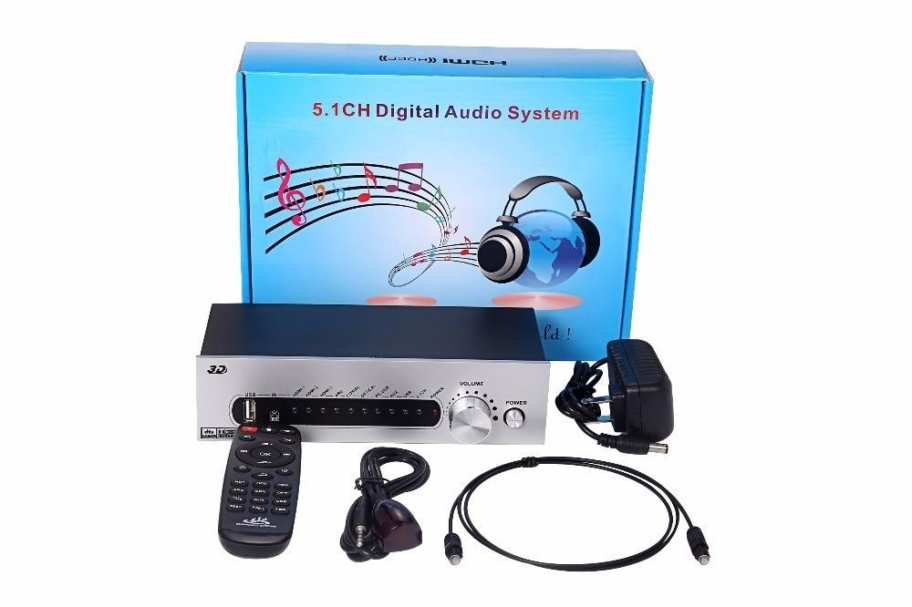 2 K Hdmi Usb S/pdif Optische Koxiale Für 5,1 Kanal Power Verstärker Gesundheit Effektiv StäRken Desktop Digitaler Musik-player Dts/ac3 5,1 Audio Decoder Digital Audio System Konverter 4 K Tragbares Audio & Video