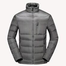 4ce1f53f6712 Ultra-light Down Jacket Men Stand Collar Windproof Winter Men Jackets    Coats Simple Design