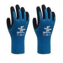 Children Garden Safety Glove Nylon Nitrile Sandy Coated Labor Glove WG-500G недорого