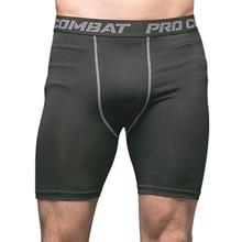 deddcea077 YISHIDA Bodyboulding Shorts Shorts De Compressão dos homens dryfit shorts de  Fitness masculino Suor Elástico ginásio