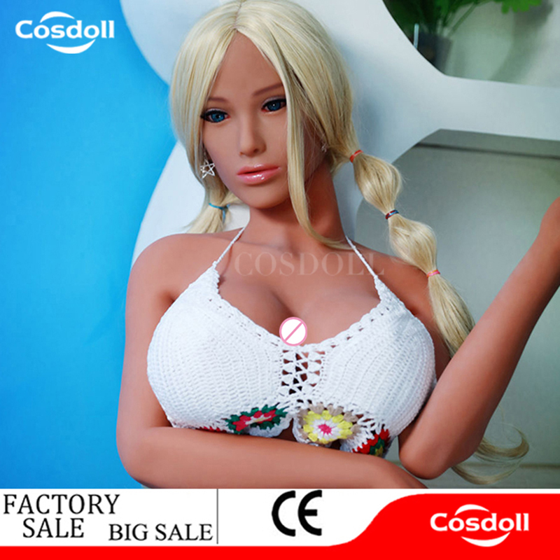 Cosdoll 168cm Full Size Metal Skeleton Female Silicone Sex Doll Real Doll Big Breasts Buttocks Sex Products for Men Masturbating plastic standing human skeleton life size for horror hunted house halloween decoration
