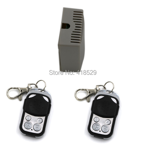 RF Wireless Remote Control Switch 12V 4CH 1 Receiver with 2 Transmitter remote controller 7A,150M long-rang remote SKU: 5028