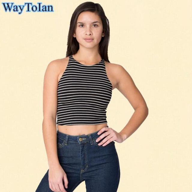 61678e2ba4 WayToIan 2017 aptidão das mulheres tops sexy blusa cropped amarelo tops com  tiras bra regata feminina